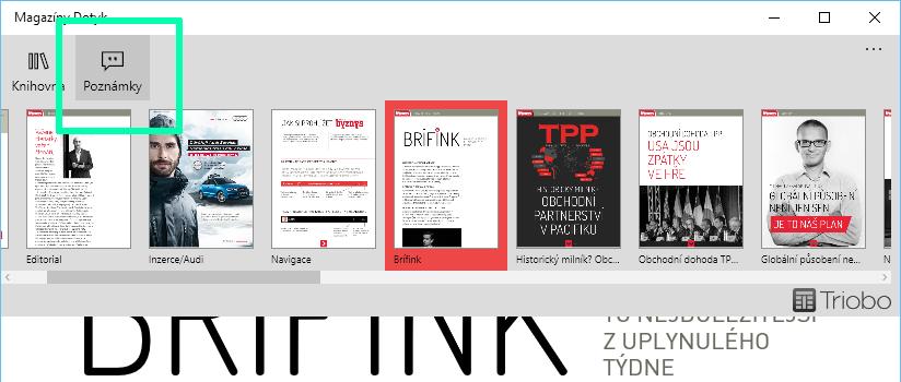 Ink-menu
